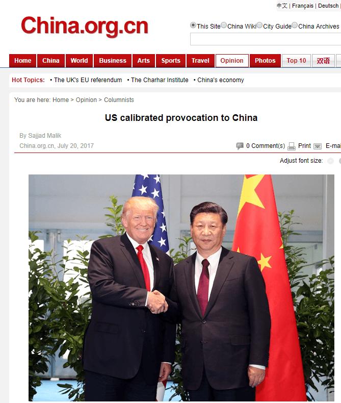 17 07 20 Trump & Xi article