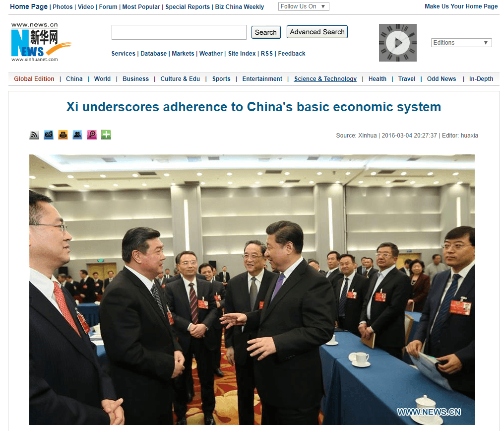 17 08 25 Xi on China socialist economy