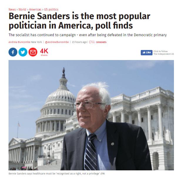 17 08 26 Sanders popular