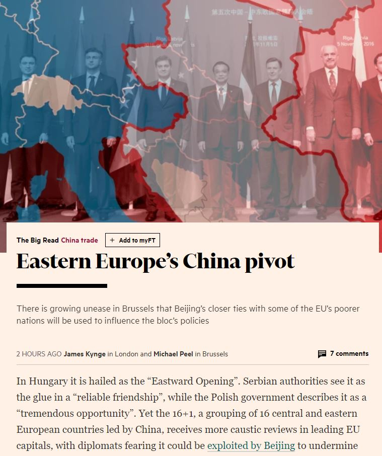 17 11 27 FT China Eastern Europe